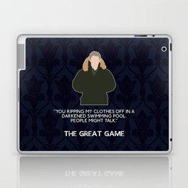 The Great Game - John Watson Laptop & iPad Skin