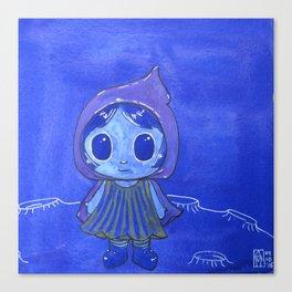 Moonkhin 5 (Iridum Cobalt) Canvas Print