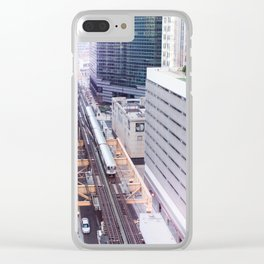 Downtown Bound Clear iPhone Case