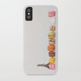Paris, macarons and the eiffel tower iPhone Case