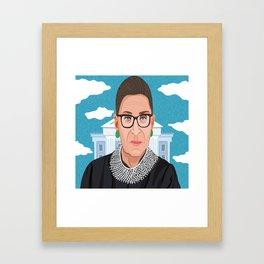 Ruth Bader Ginsburg Notorious RBG Framed Art Print