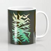 crane Mugs featuring Crane by ArtsDianti