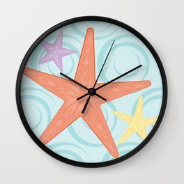Shock Cousteau Starfish Wall Clock