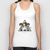 30 rock Tank Tops featuring 30 Seconds to Cartoon by Chiara Wepfer