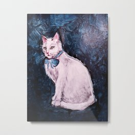 My Cat is Evil Pt. 2 Metal Print