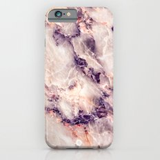 Pink marble texture effect Slim Case iPhone 6s