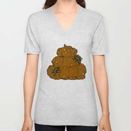 Poop & Flies Unisex V-Neck
