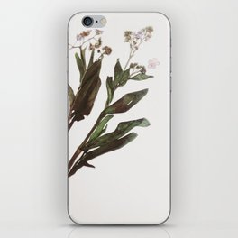 Flowing Lovely Floral iPhone Skin