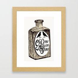 Old Crow Medicine Show Tonic Framed Art Print