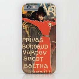 Cabaret des Arts iPhone Case