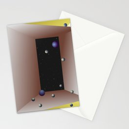Moons Out Stationery Cards
