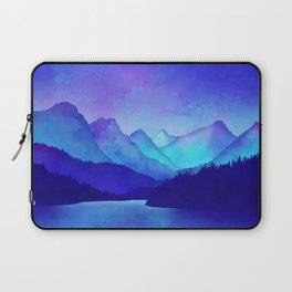 Cerulean Blue Mountains Laptop Sleeve