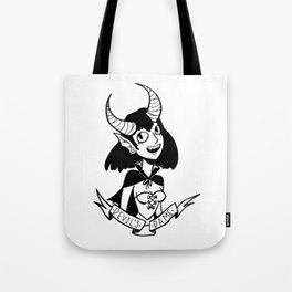 Devil's Dame Tote Bag