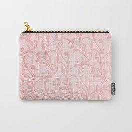 Pretty princess- Pink elegant Damask pattern Carry-All Pouch