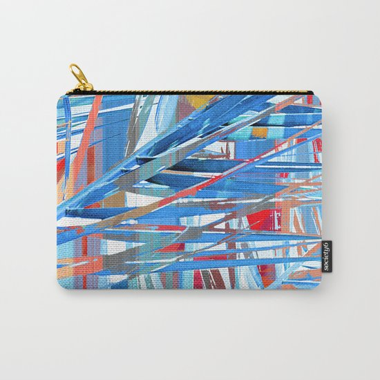 Floral abstract(45). Carry-All Pouch
