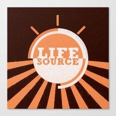Life Source Canvas Print
