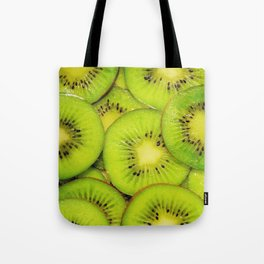 Green kiwis Tote Bag