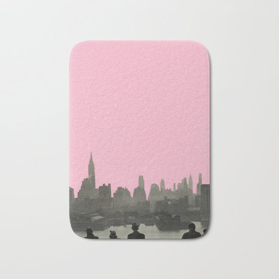 New York Nights Bath Mat