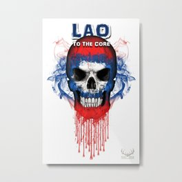 To The Core Collection: Laos Metal Print