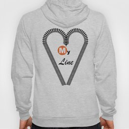 Heart My Line Hoody