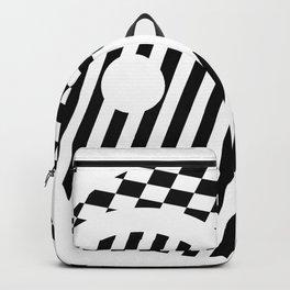 Yin Yang Abstraction Backpack