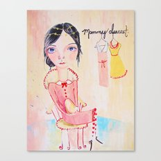 Mommy Dearest Canvas Print