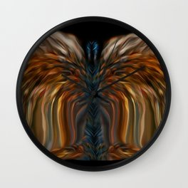 Lioness Blue Angel Wall Clock
