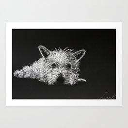 Lily Pooh Art Print