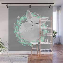 Baby Fennec / Spring Wall Mural