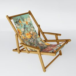 You Loved me a Thousand Summers ago Sling Chair