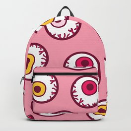 Candy Eyeball Pattern Backpack