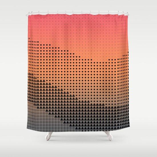 synegryde Shower Curtain