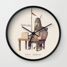 free-lancer Wall Clock