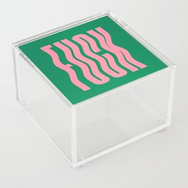 Favorite Word: Tropical Wavy Edition Acrylic Box