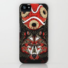 Mononoke Totem iPhone Case