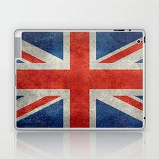 British flag of the UK, retro style Laptop & iPad Skin