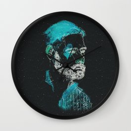 space dude Wall Clock