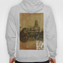 Vintage Fire Engine Hoody