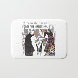 Dare to Be Different Bath Mat