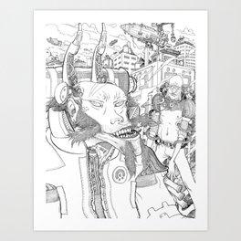 Futurist #2 Art Print