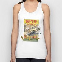 comic book Tank Tops featuring A Comic Book Villian  by Berni Store