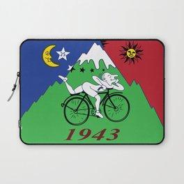 Bicycle Day 1943 Albert Hofmann LSD Laptop Sleeve