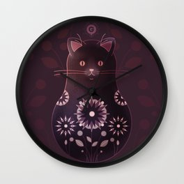 Catryoshka Wall Clock