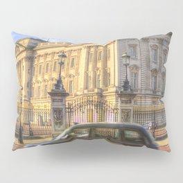 Taxi Buckingham Palace Panorama Pillow Sham