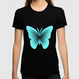Pretty Wings of Aqua Butterfly T-shirt