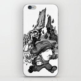 Dodging Dooms iPhone Skin