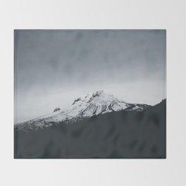 Mt. Hood x Oregon Throw Blanket