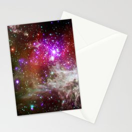NGC 281 nebula with active star formation (NASA/Chandra) Stationery Cards