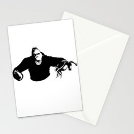 king to the kong Stationery Cards