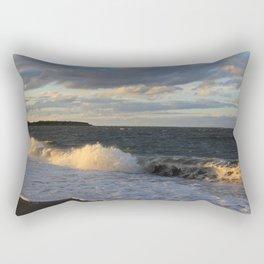 Autumn Crashing Waves Rectangular Pillow